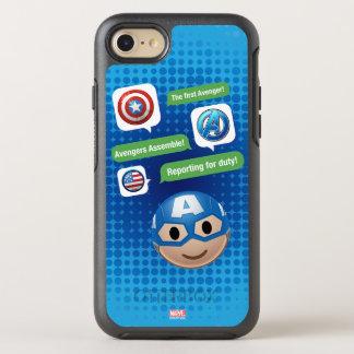 Captain America Emoji OtterBox Symmetry iPhone 8/7 Case