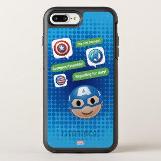 Captain America Emoji OtterBox Symmetry iPhone 8 Plus/7 Plus Case