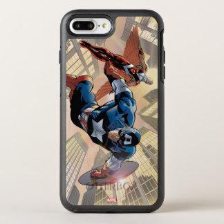 Captain America & Falcon Comic Panel OtterBox Symmetry iPhone 8 Plus/7 Plus Case