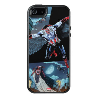Captain America Fighting Crime OtterBox iPhone 5/5s/SE Case