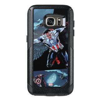 Captain America Fighting Crime OtterBox Samsung Galaxy S7 Case