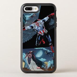 Captain America Fighting Crime OtterBox Symmetry iPhone 8 Plus/7 Plus Case