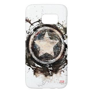 Captain America Grunge Shield