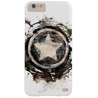 Captain America Grunge Shield Barely There iPhone 6 Plus Case