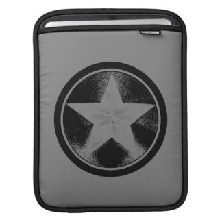 Captain America Grunge Shield iPad Sleeve
