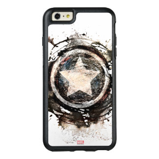 Captain America Grunge Shield OtterBox iPhone 6/6s Plus Case