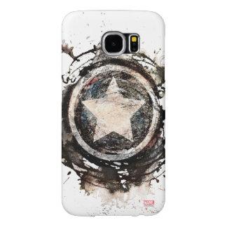 Captain America Grunge Shield Samsung Galaxy S6 Cases