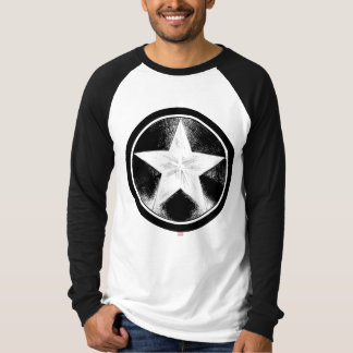 Captain America Grunge Shield T-Shirt