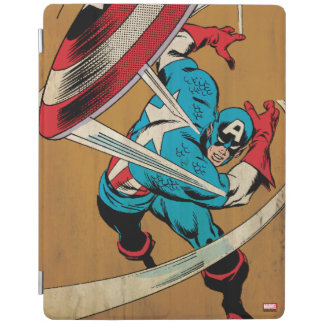 Captain America-He Took On All Of Them iPad Cover