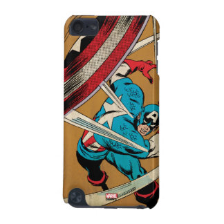 Captain America-He Took On All Of Them iPod Touch (5th Generation) Covers