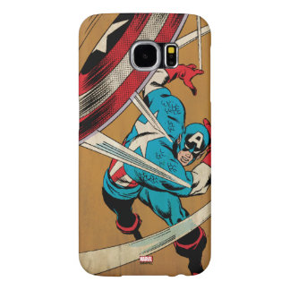 Captain America-He Took On All Of Them Samsung Galaxy S6 Cases