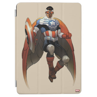 Captain America In Flight iPad Air Cover