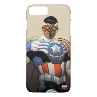 Captain America In Flight iPhone 8 Plus/7 Plus Case