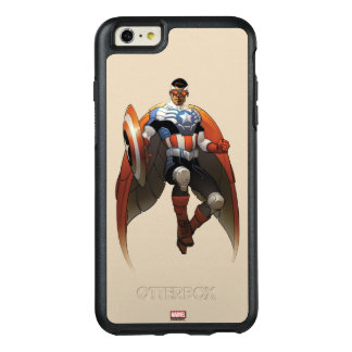 Captain America In Flight OtterBox iPhone 6/6s Plus Case
