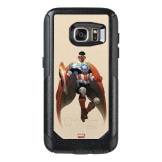Captain America In Flight OtterBox Samsung Galaxy S7 Case