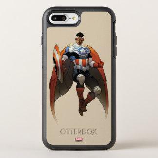 Captain America In Flight OtterBox Symmetry iPhone 8 Plus/7 Plus Case