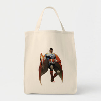 Captain America In Flight Tote Bag