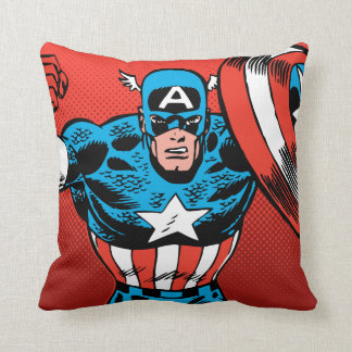 Captain America Jump Cushion