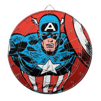 Captain America Jump Dartboard