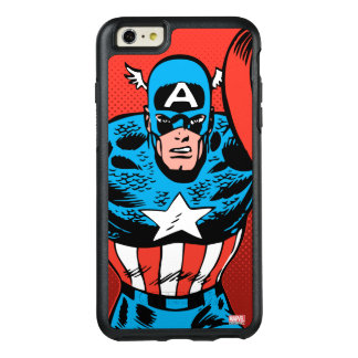 Captain America Jump OtterBox iPhone 6/6s Plus Case