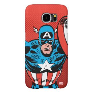 Captain America Jump Samsung Galaxy S6 Cases