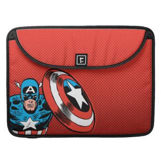 Captain America Jump Sleeve For MacBooks