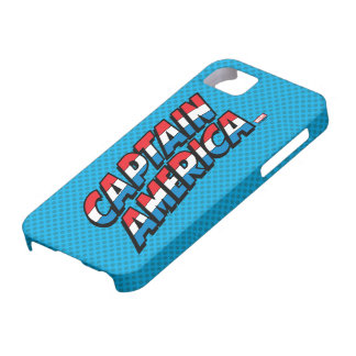 Captain America Name Logo Case For The iPhone 5