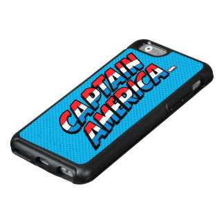 Captain America Name Logo OtterBox iPhone 6/6s Case