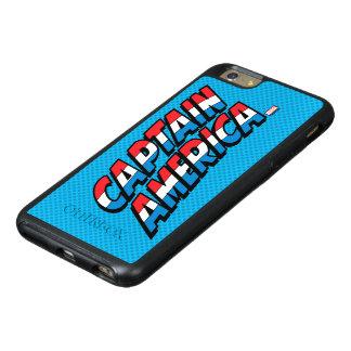 Captain America Name Logo OtterBox iPhone 6/6s Plus Case