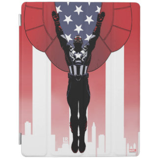 Captain America Patriotic City Graphic iPad Cover