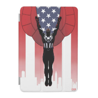 Captain America Patriotic City Graphic iPad Mini Cover