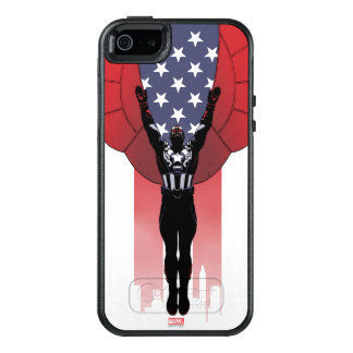 Captain America Patriotic City Graphic OtterBox iPhone 5/5s/SE Case