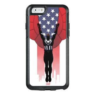 Captain America Patriotic City Graphic OtterBox iPhone 6/6s Case