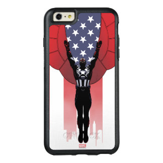 Captain America Patriotic City Graphic OtterBox iPhone 6/6s Plus Case