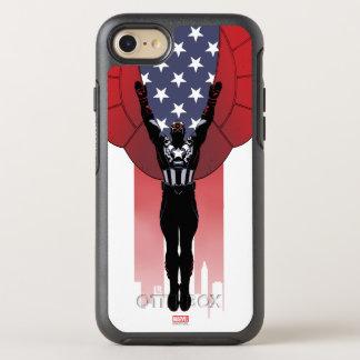 Captain America Patriotic City Graphic OtterBox Symmetry iPhone 7 Case