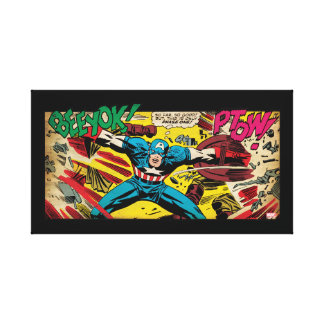 Captain America-Phase One Canvas Print