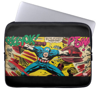 Captain America-Phase One Laptop Sleeve