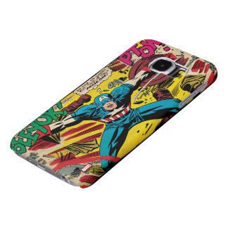 Captain America-Phase One Samsung Galaxy S6 Cases