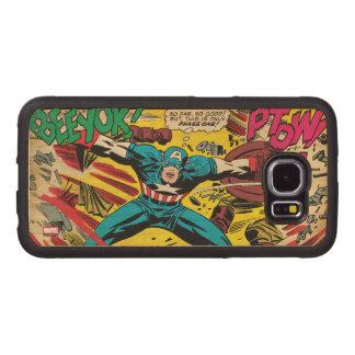 Captain America-Phase One Wood Phone Case