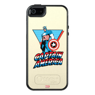 Captain America Retro Character Graphic OtterBox iPhone 5/5s/SE Case