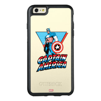 Captain America Retro Character Graphic OtterBox iPhone 6/6s Plus Case