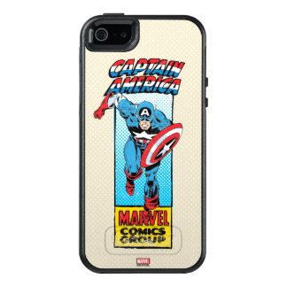 Captain America Retro Comic Character OtterBox iPhone 5/5s/SE Case