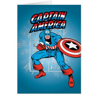 Captain America Retro Price Graphic Card
