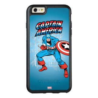Captain America Retro Price Graphic OtterBox iPhone 6/6s Plus Case