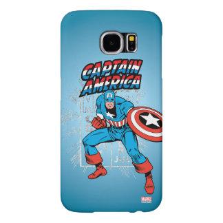 Captain America Retro Price Graphic Samsung Galaxy S6 Cases
