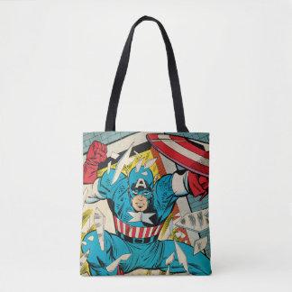 Captain America Revival Tote Bag
