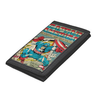 Captain America Revival Tri-fold Wallet