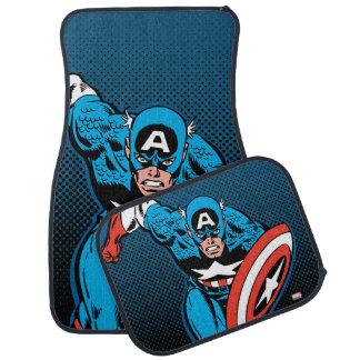 Captain America Run Car Mat