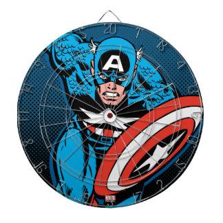 Captain America Run Dartboard