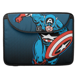 Captain America Run Sleeve For MacBook Pro